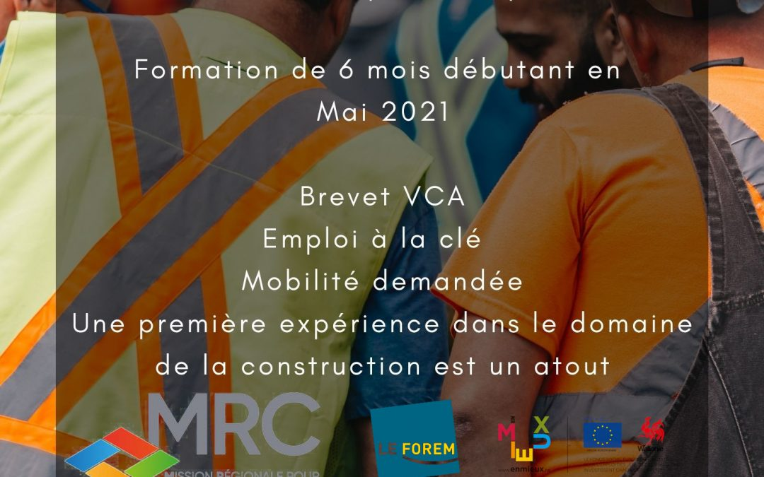 Formation ouvrier de voiries et conducteur d'engins de chantier